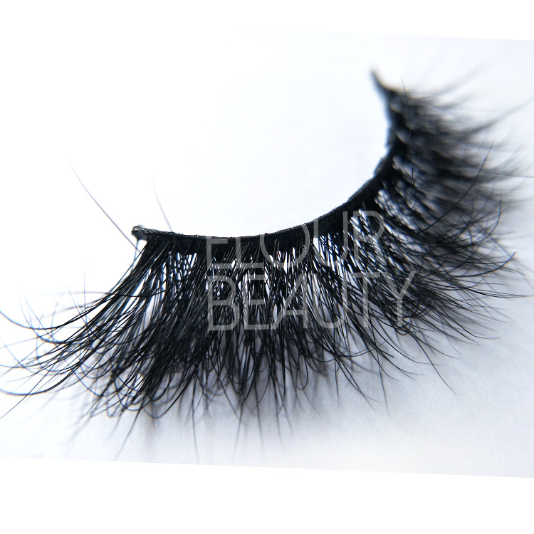 Best 3D Volume mink eyelashes customized wholesale ED27