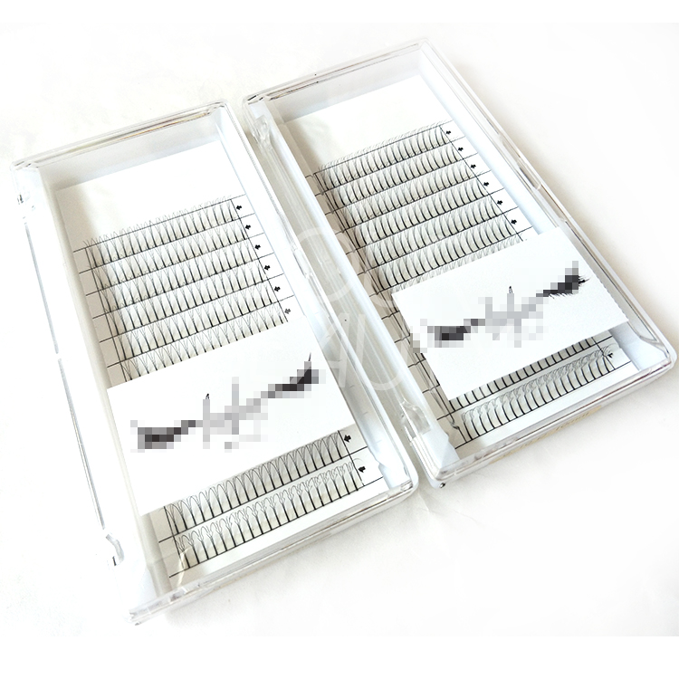 Korean PBT premade volume eyelash extensions vendors China EL83