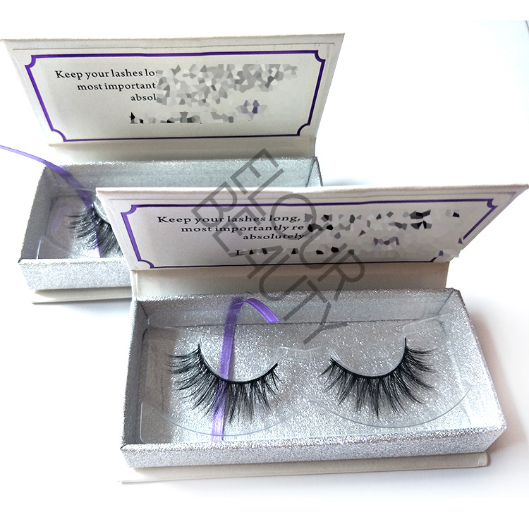 Private label 3D faux mink lashes vendors wholesale EL121