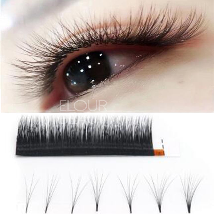 1 second easy fan eyelash extensions signature rapid volume permanent lashes wholesale supplies EY41