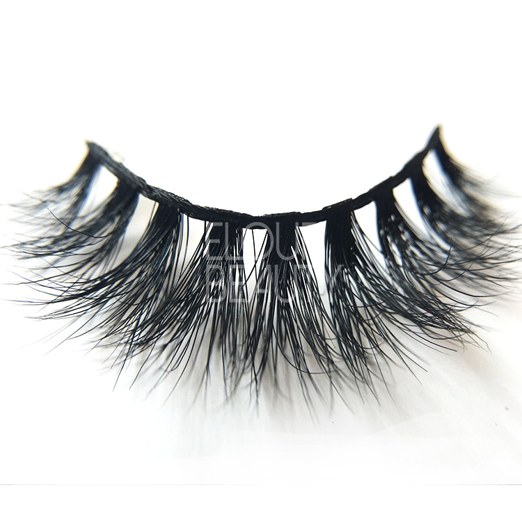 Luxury 3D real mink permanent fake eyelashes China supplies EA05