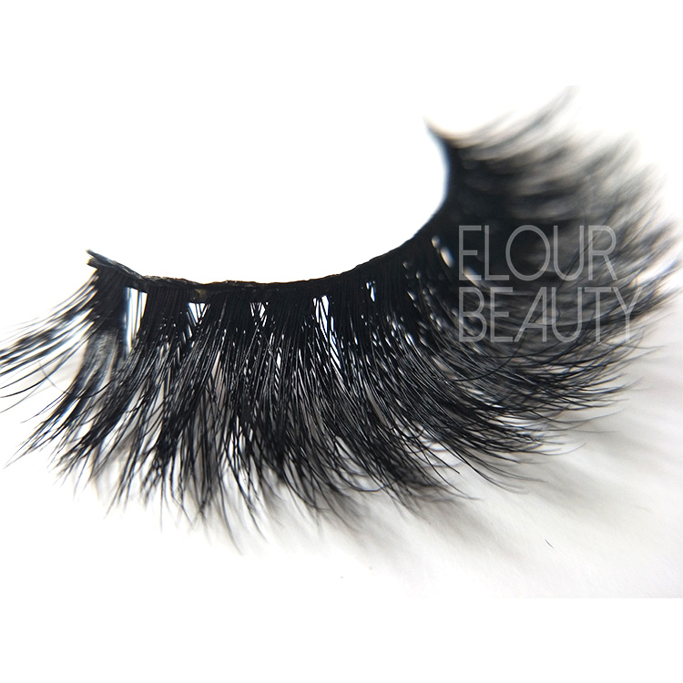3D volume mink lashes wholesale private label China EA124