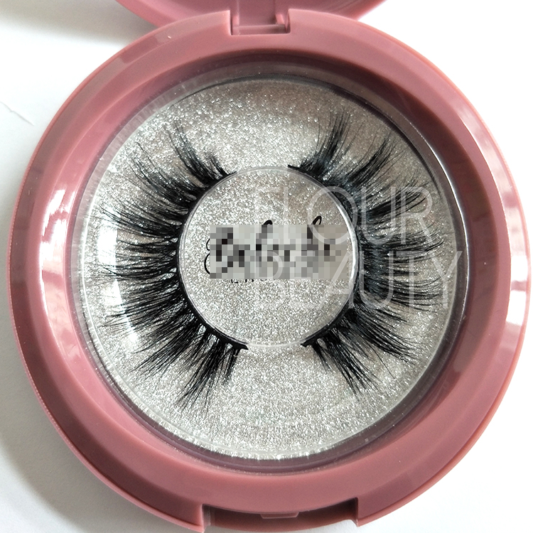3D Wispy Styles Mink Strip Lashes China factory supplies no MOQ ED115
