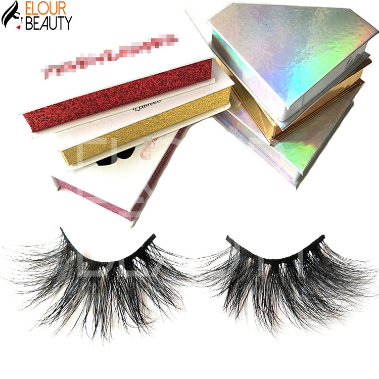 Chinease whoelsale 30mm 5d mink lashes private label supplier EY19