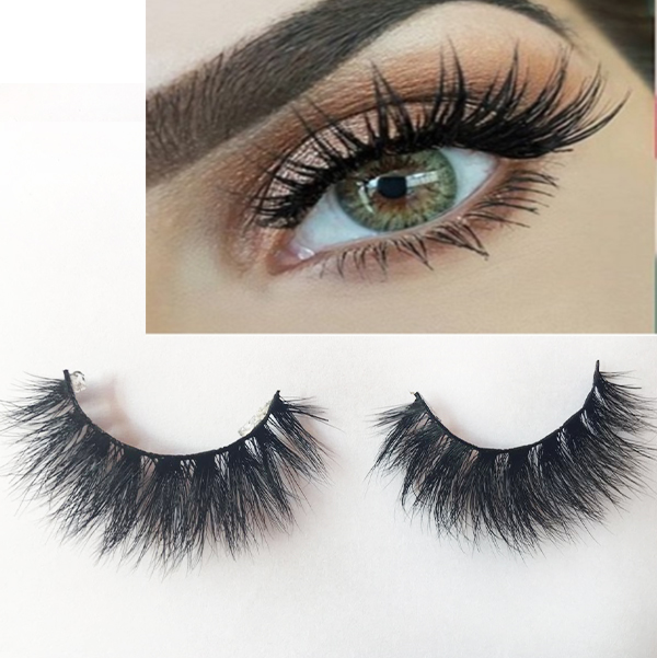 Top quality 3D real mink eyelashes extensions ES80