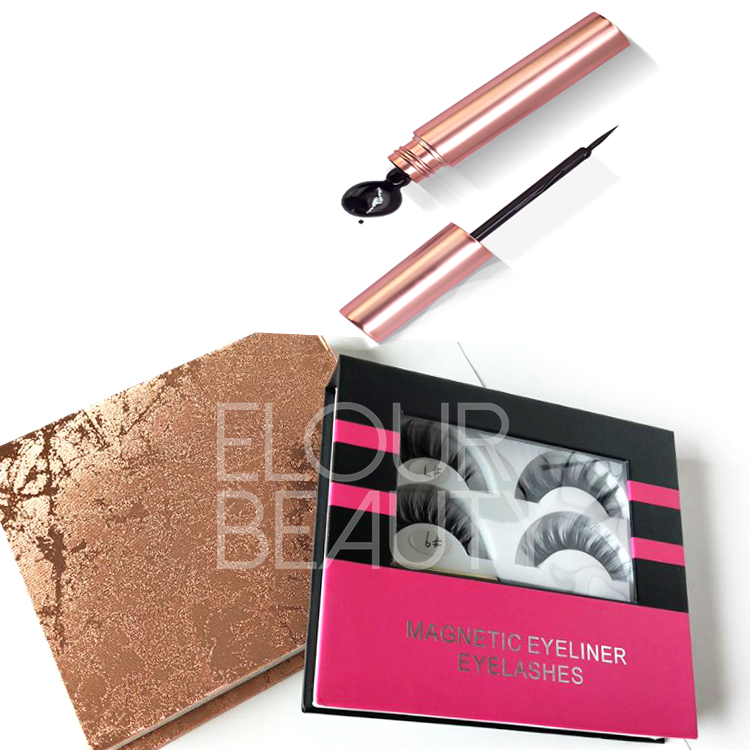Hot selling magnetic eyeliner for magnetic eyelash...