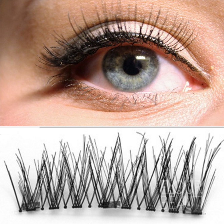 Private label newest volume 3D magnets false lash beauty supply ED96