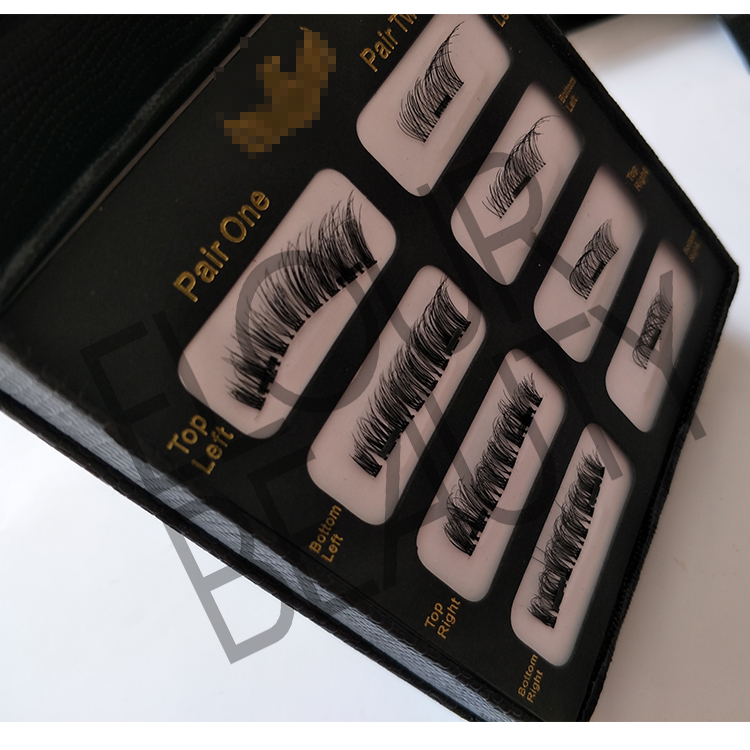 Private label 3D magnetic eyelashes manufacturer China ED15