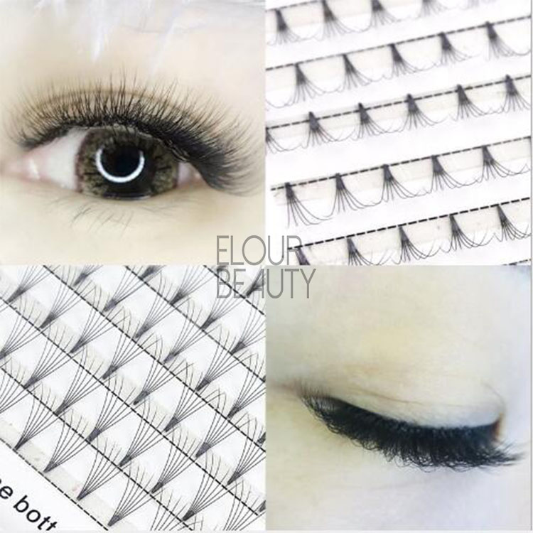 Easy to use premade russian volume fans 2D,3D,4D,5D,6D,7D  eyelash extensions EY42