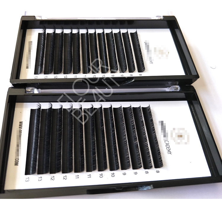 0.07mm feather soft volume camellia eyelash extensions calgary EL66