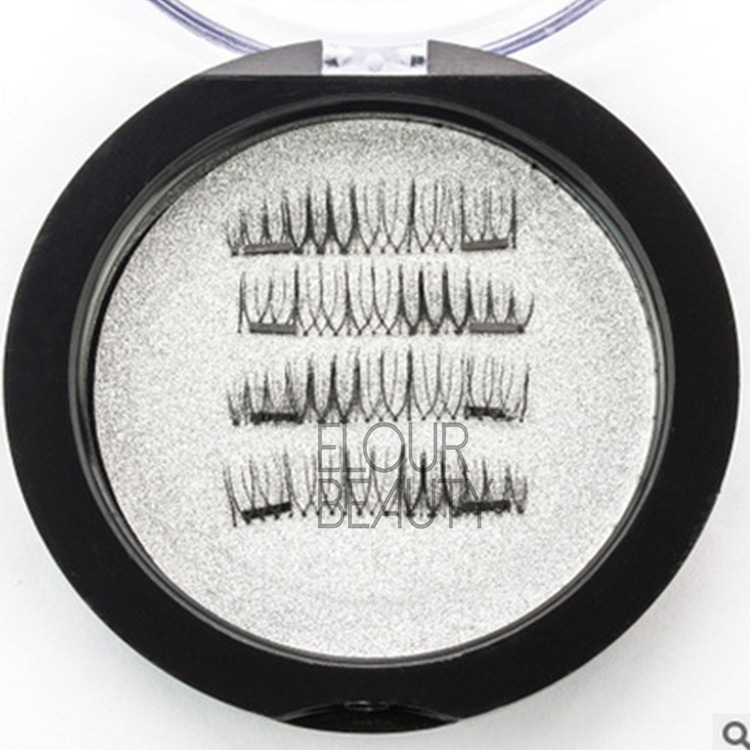 3D private label magic magnetic false eyelashes China EA71