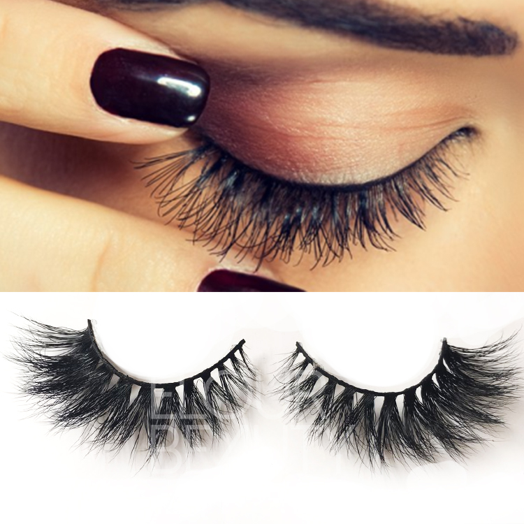 3D natural real mink lashes with premium quality for makeup ES60
