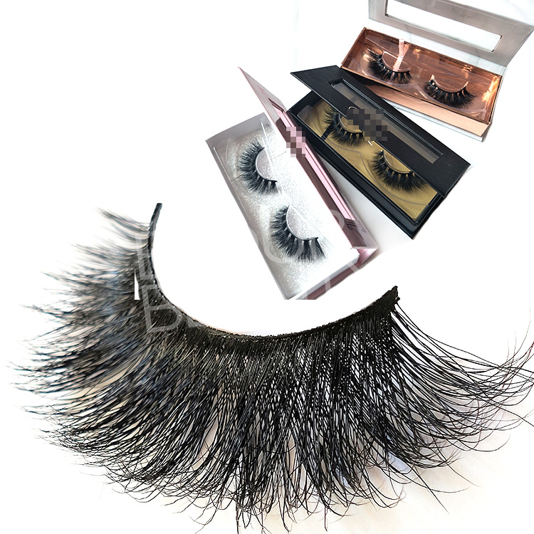 Custom packaging 5d mink eyelashes suppliers wholesale China EL132
